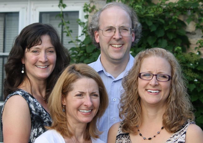 Scott and sisters
